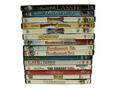 Children Movie Night DVDs Dogs Cats Bears Movies Discs Disney Warner Lot Of 15