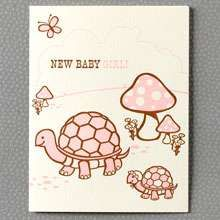 Turtle Baby Announcement