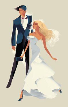 Harrods - Fashion Illustrations on Behance