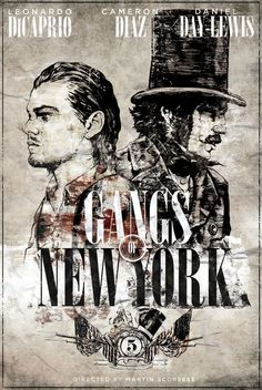 Leonardo DiCaprio, Daniel Day-Lewis, and Cameron Diaz in Gangs of New York