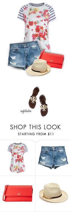 """""""Summer Days"""" by angkclaxton ❤ liked on Polyvore featuring Kate Spade, STELLA McCARTNEY and Tory Burch"""