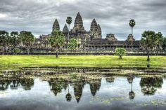 Angkor is one of the most important archaeological sites in South-East Asia. Stretching over some 400 km2, including forested area, Angkor Archaeological Park contains the magnificent remains of the different capitals of the Khmer Empire, from the 9th to the 15th century. They include the famous Temple of Angkor Wat and, at Angkor Thom, the Bayon Temple with its countless sculptural decorations.