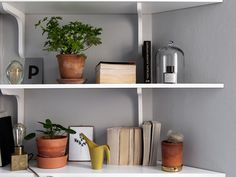 Floating Shelves, Home Decor, Decoration Home, Room Decor, Wall Mounted Shelves, Interior Design, Home Interiors, Interior Decorating