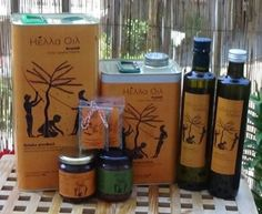 Hella Oil Greek products: extra virgin olive oil, Kalamata olives and olive paste, wild oregano and thyme. All pure and without conservatives will add flavour to everything you cook!
