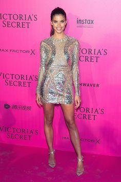 Sara Sampaio - 2016 Victoria's Secret Fashion Show After-party - HarpersBAZAAR.com