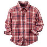 Essential for his cold-weather style, a plaid flannel is perfect for layering over graphic tees or under shawl collar cardigans.