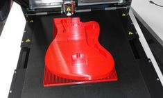 printed with by Robot Factory, 3d Photo, 3d Printing, Guitar, Home Appliances, Photo And Video, Printed, Learning, Videos