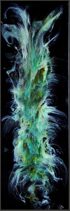 Abstract Original Resin Art FREE US Ship by HalfBakedArt on Etsy