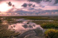 Ameland - nog een prachtige zonsondergang