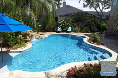 Sunstone Pearl Aqua Looks Fabulous During The Sunny Days Of Summer In Florida Blue Haven Pools Jacksonville Fl