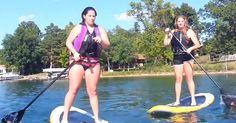 Όταν η διασκέδαση στη λίμνη καταλήγει σε απίστευτα Fails (Video)