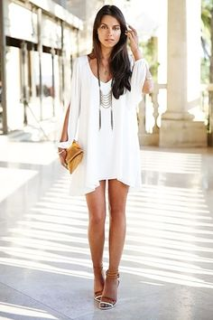 white dress, very nice !