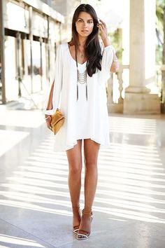 white dress, very nice !