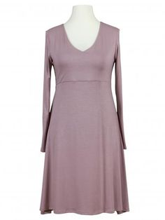 Damen Jerseykleid A-Form, rosa