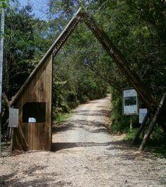 Atalaia Natural Park entrance -  Itajaí, Santa Catarina