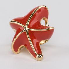 // Vergara Collection - Starfish Ring - ELEONORA VARINI Starfish Ring, Ring Designs, Rings, Collection, Ring, Jewelry Rings