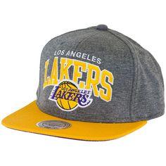 Mitchell & Ness Jersey Arch Snapback Cap LA Lakers ★★★★★