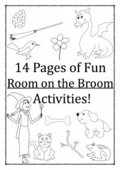 room on the broom activities room activities and books. Black Bedroom Furniture Sets. Home Design Ideas