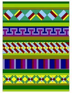 Seminole Quilt Pattern