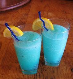 Frozen Blue Raspberry Lemonade Non-alcoholic lemonade!!! got to try some....