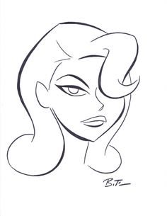 Poison Ivy by Bruce Timm