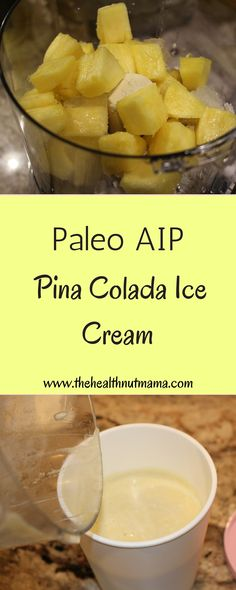 Yum! Perfect to cool off for summer! 3 ingredients! How easy is that? www.thehealthnutmama.com