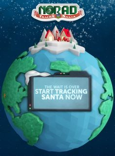 Anyone else tracking Santa? Is he putting yarn in your stocking this year?