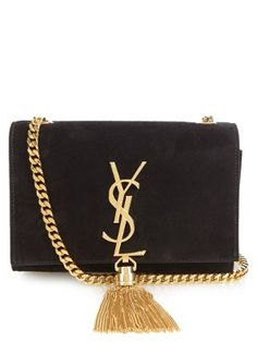 Cassandre small suede cross-body bag | Saint Laurent | MATCHESFASHION.COM UK