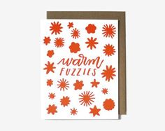 Warm Fuzzies Card by Worthwhile Paper