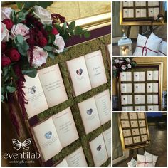 Lovely book themed de Mariage with floral decorations. (Alter for table/place card info?it Tableau de Mariage a tema libri con decorazione floreali. Wedding Mood Board, Wedding Book, Wedding Signs, Wedding Table, Our Wedding, Dream Wedding, Autumn Wedding, Floral Decorations, Stage Decorations