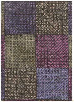 Kasthall Galler Printed Chenille Wool Rug by Viola Gråsten, 1956