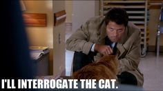 You do that, Cas :) -This has got to be one of my all-time favorite Supernatural episodes XD