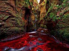 Blood River, Devil's Pulpit, Gartness, Scotland