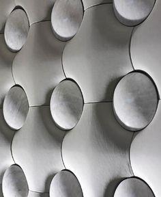 Wall Tiles by Pelle Pietra 3d Wall Tiles, Wall Tiles Design, Precast Concrete, Concrete Tiles, Concrete Texture, Wall Patterns, Textures Patterns, Floor Patterns, Architectural Materials
