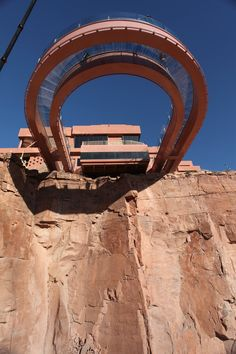 Skywalk from Below. | Grand Canyon