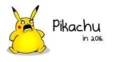 Pikachu In 2016