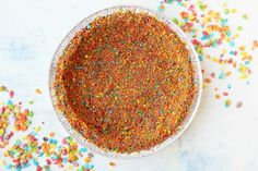 Make and share this Fruit Pebbles No-Bake Cheesecake recipe from Food.com.
