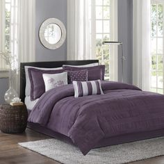 Madison Park Richmond 7-Piece Comforter Set | Overstock.com Shopping - The Best Deals on Comforter Sets