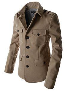 Showblanc(SBDJK7) Man's Multi Pocket Slim FIt 4 button Half Coat Style Jacket BEIGE Large(US Medium) Showblanc http://www.amazon.com/dp/B00SKLDCXS/ref=cm_sw_r_pi_dp_Y4E0ub14BPFGK