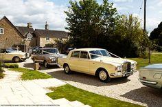Kate Moss' wedding cars