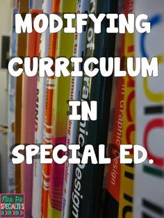 Modifying Curriculum For The Special Needs Student. Some very practical ideas on modifying regular ed social studies curriculum and activities for your students with special learning needs. Read more at: www.mrspspecialti… Source by Co Teaching, Teaching Special Education, Teaching Strategies, Teaching Ideas, 6th Grade Special Education, Teaching Time, Instructional Strategies, Differentiated Instruction, Special Ed Teacher