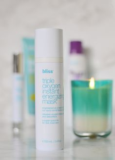 This mask is all the feels of the spa in one bottle! #BlissAtKohls #ad | oliveandivyblog.com