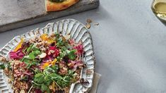 Learn how to make Spring Pea Shoot Salad with Beets and Dulse Vinaigrette . MyRecipes has tested recipes and videos to help you be a better Smashed Cucumber Salad, Beet Salad, Side Dishes For Salmon, Best Side Dishes, Chickpea Fries, Classic Caesar Salad, Pickled Okra, Whipped Feta