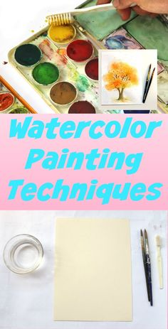 Watercolor art ~ less than 10 minutes and under $1.00