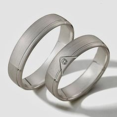 ALIANZAS Rings For Men, Wedding Rings, Engagement Rings, Nara, Jewelry, Wedding Ideas, Men Rings, White Gold, Wedding Band Rings