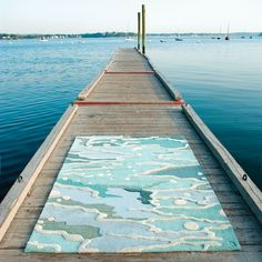 ocean seaglass rug