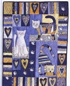 cat quilt - Patchwork Quilt Patterns - Bing Images