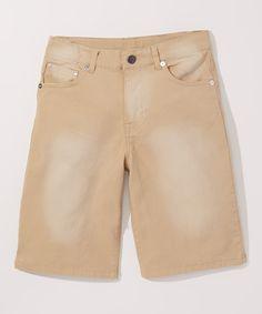 Tan Shorts - Toddler & Boys