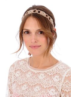 angelica by untamed petals - rose gold beading, so pretty!