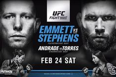 ICYMI here's what went down at #UFCOrlando last night    #JoshEmmett vs. #JeremyStephens @lilheathenmma  Stephens def. Emmett by #KO (punches and elbows) at 1:35 of Round Two  Stephens is on  right now could a shot at one of the division's top fighters be in his future?   #TeciaTorres vs. #JessicaAndrade @jessicammapro  Andrade def. Torres by unanimous decision (29-27 29-28 x2).  It looks like Andrade earned her title shot  will she be the next #UFC women's #strawweight champion?…